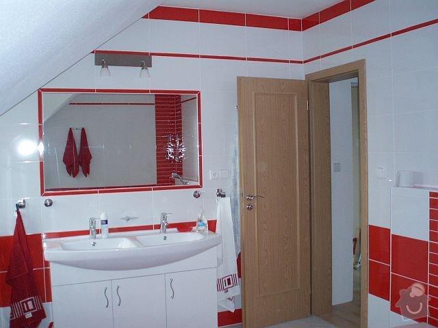 Kompletní interiér - podlahy, obklady, dlažby, instalatérské práce, krb: PA040109