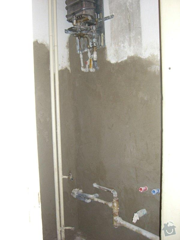 Instalace nového rozvodu vody+zedničina: CIMG1904