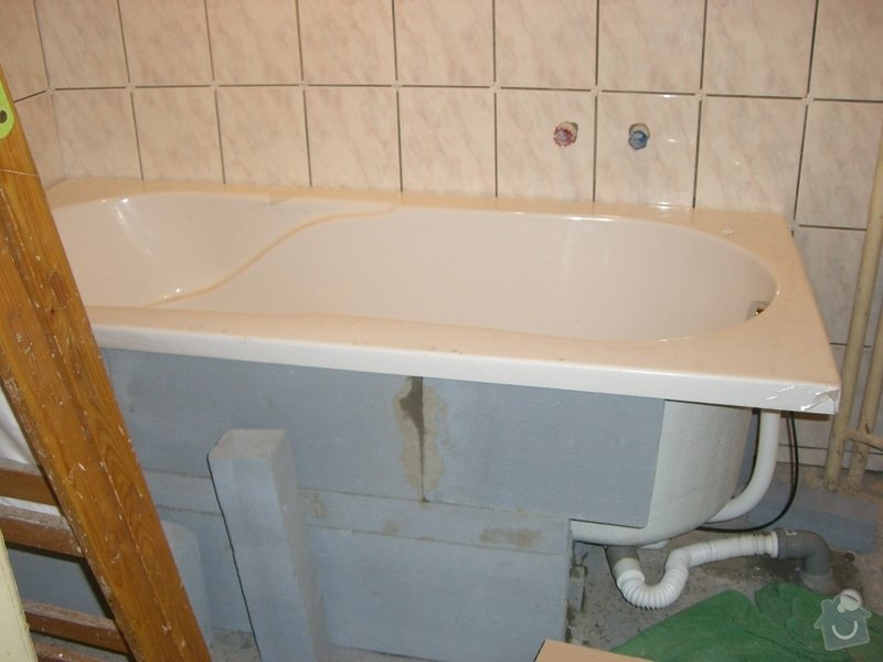 Instalace nového rozvodu vody+zedničina: CIMG1988