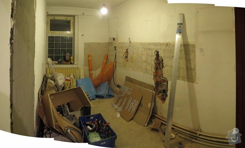 Rekonstrukce kuchyně - cca 8 m2: pondeli
