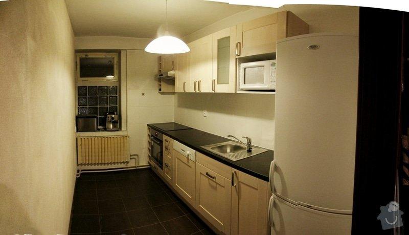 Rekonstrukce kuchyně - cca 8 m2: sobota