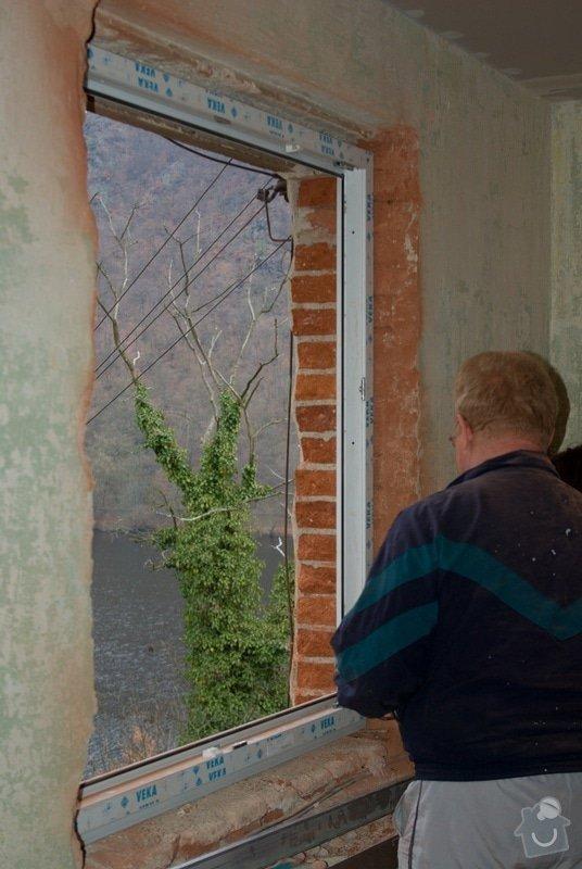 Elektroinstalace, montáž oken: 07