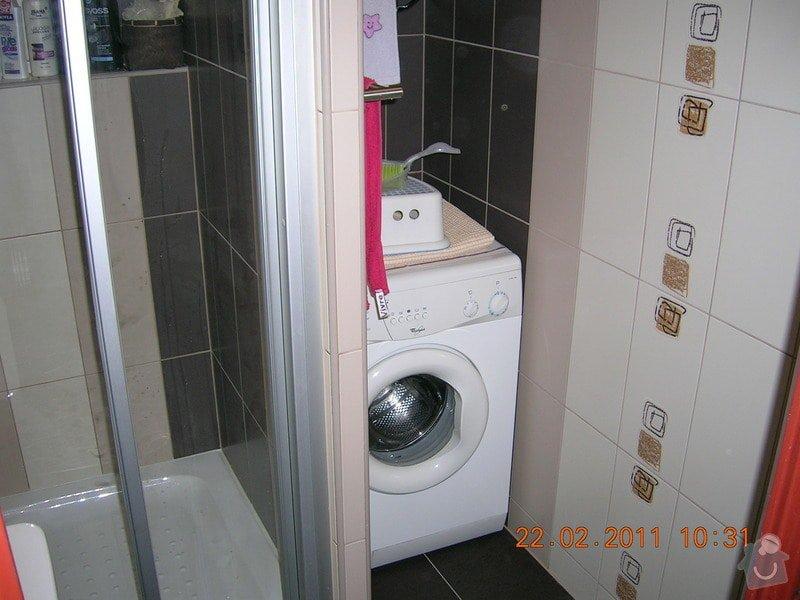 Rekonstrukce koupelny + WC: DSCN3912