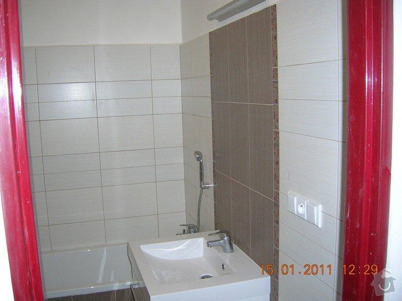 Rekonstrukce koupelny, WC a kuchyně: DSCN3890
