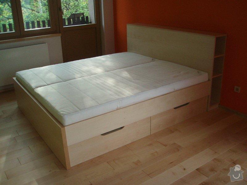 Výroba nábytku na zakázku: postel_001