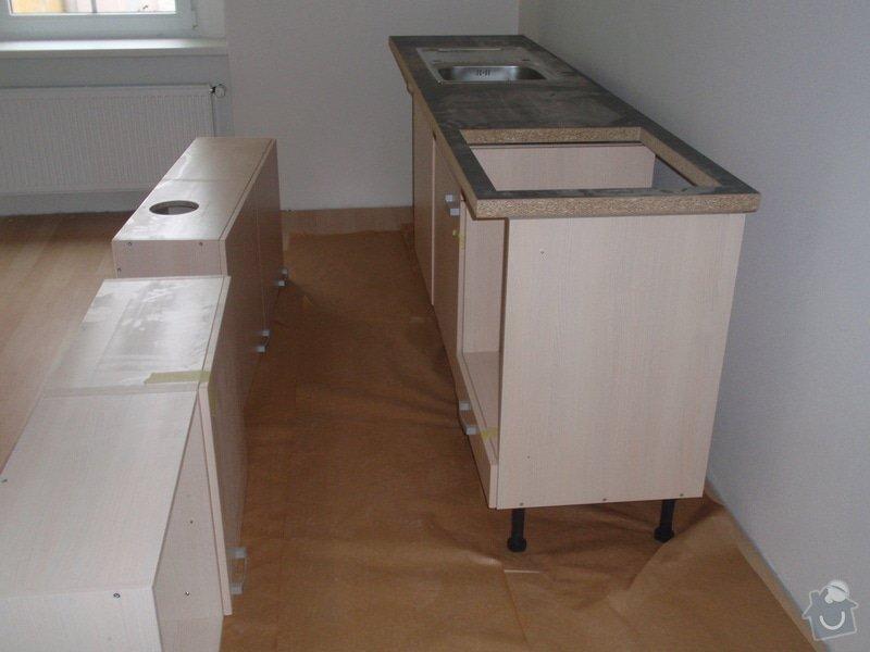 Výroba + montáž 14 ks kuchyňských linek, vč. dodání spotřebičů: EVIONS_KUCHYNE_004