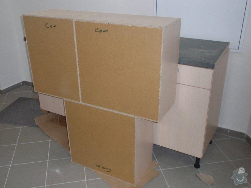 Výroba + montáž 14 ks kuchyňských linek, vč. dodání spotřebičů: EVIONS_KUCHYNE_006