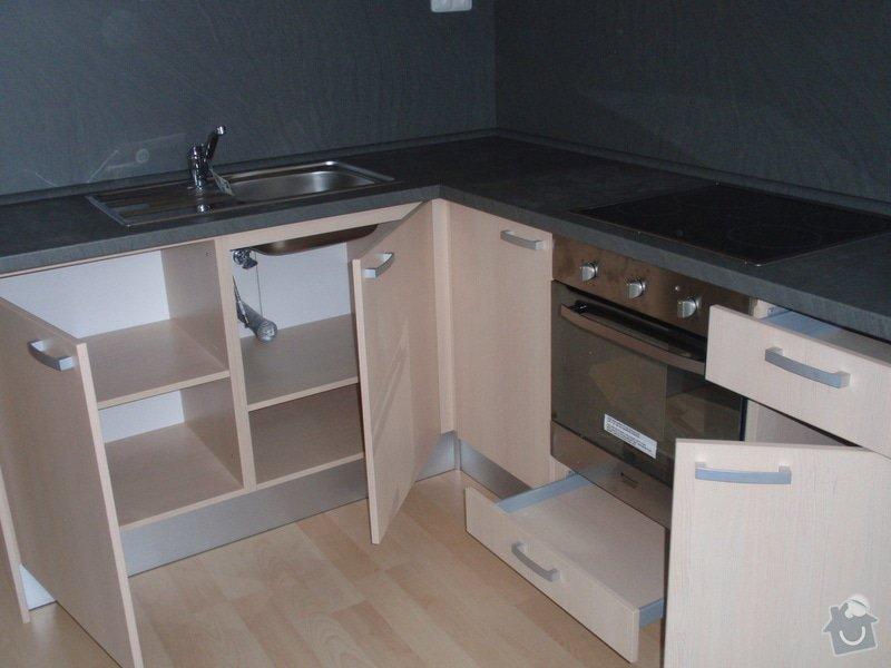Výroba + montáž 14 ks kuchyňských linek, vč. dodání spotřebičů: EVIONS_KUCHYNE_019