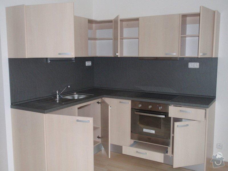 Výroba + montáž 14 ks kuchyňských linek, vč. dodání spotřebičů: EVIONS_KUCHYNE_021