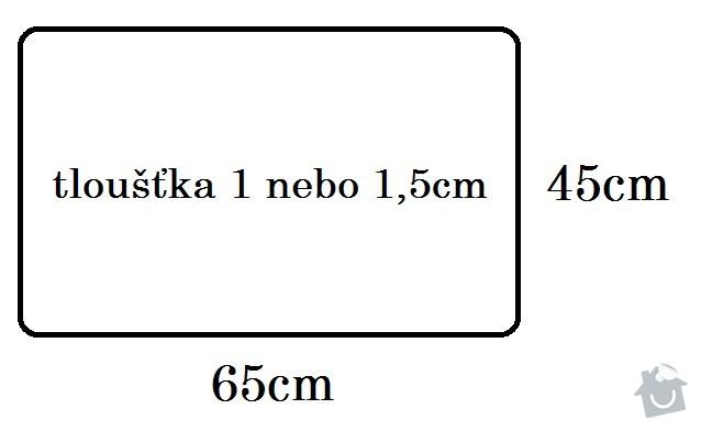 Výroba dřevěných polic: stul