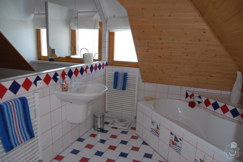 Rekonstrukce celé koupelny: koupelna