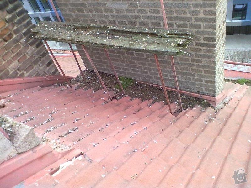 Oprava střechy, žlabů a okapů. : P2