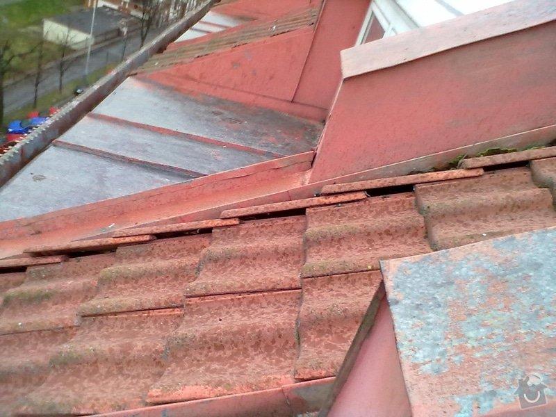 Oprava střechy, žlabů a okapů. : P3