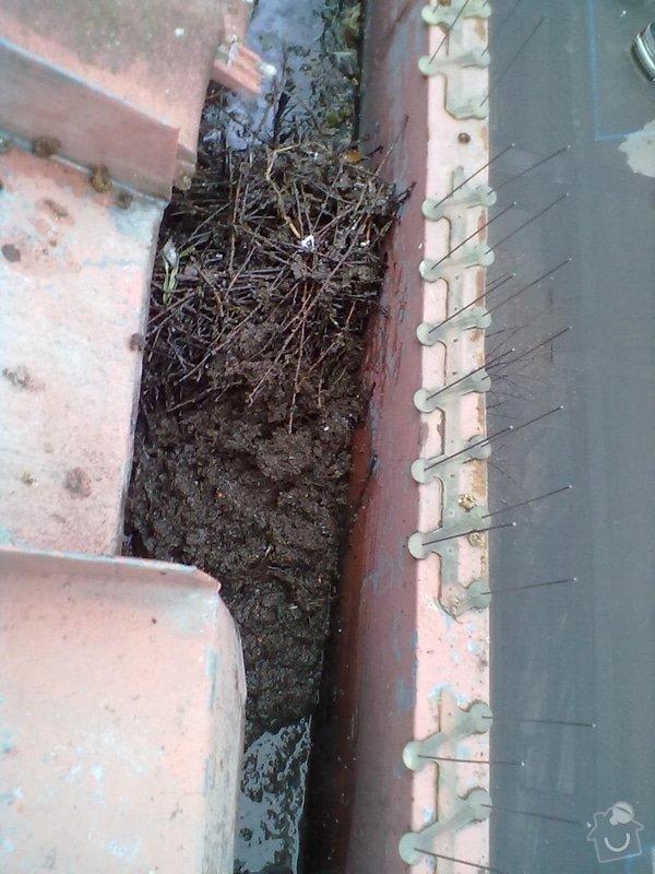 Oprava střechy, žlabů a okapů. : P5