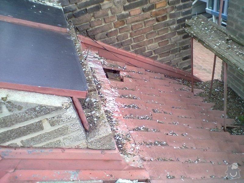 Oprava střechy, žlabů a okapů. : P6