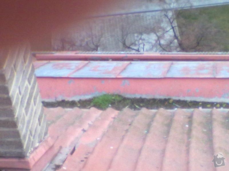 Oprava střechy, žlabů a okapů. : P7