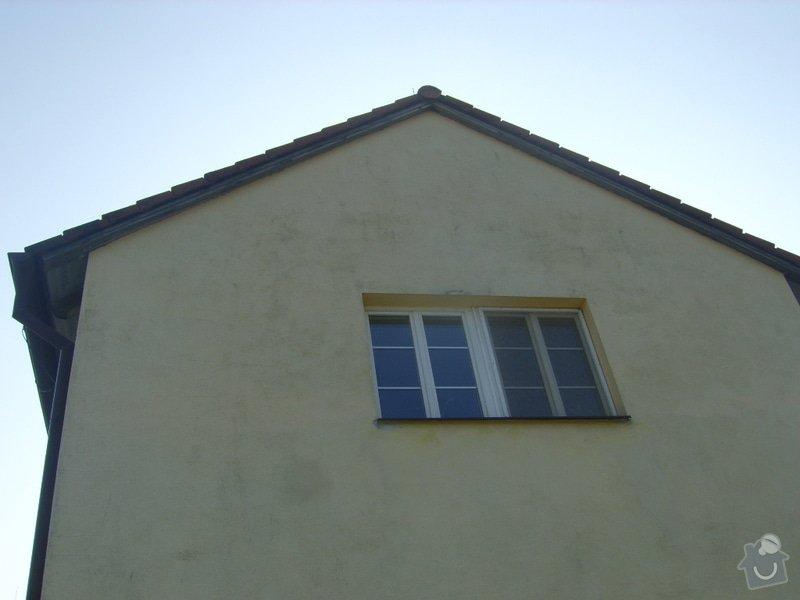 Řešení svodu srážkové vody ze střechy do studně- provoz prádelny: SV204023
