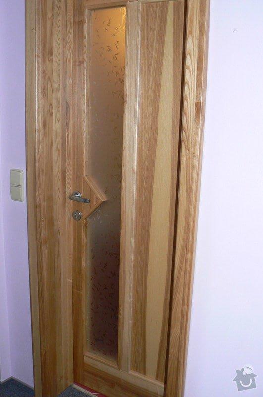 Výroba interiérových dveří: P1040831-1