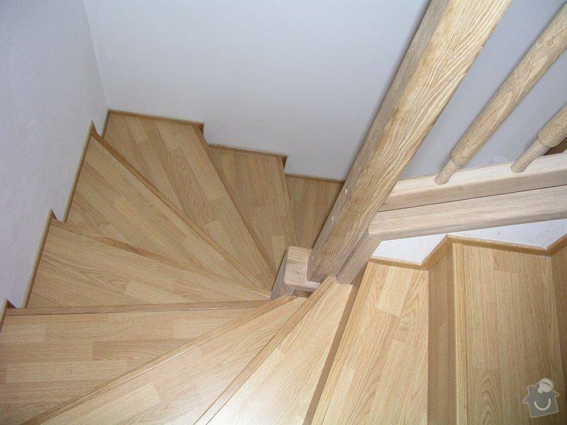 Položení plovoucí podlahy,obklad schodnic zaměření,výroba vestavné skříně a komody: Obklad_schodiste