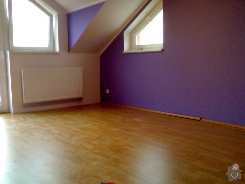 Položení plovoucí podlahy,obklad schodnic zaměření,výroba vestavné skříně a komody: Plovouci_podlaha