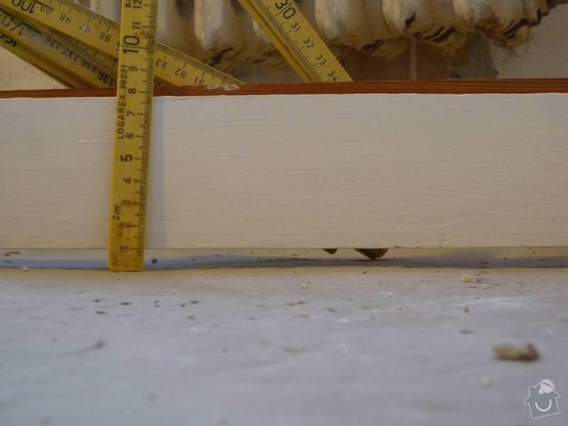 Vyrovnání podlahy: P1030112