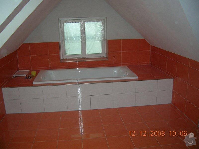 Rekonstrukce podkrovní koupelny: DSCN2242