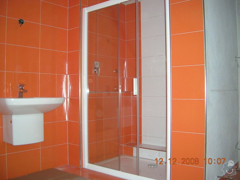 Rekonstrukce podkrovní koupelny: DSCN2243