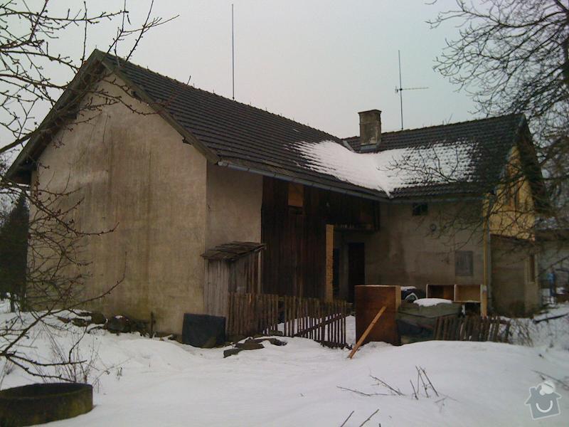 Pokrývače, tesaře, rekonstrukce komínu: Loukovec2010-6