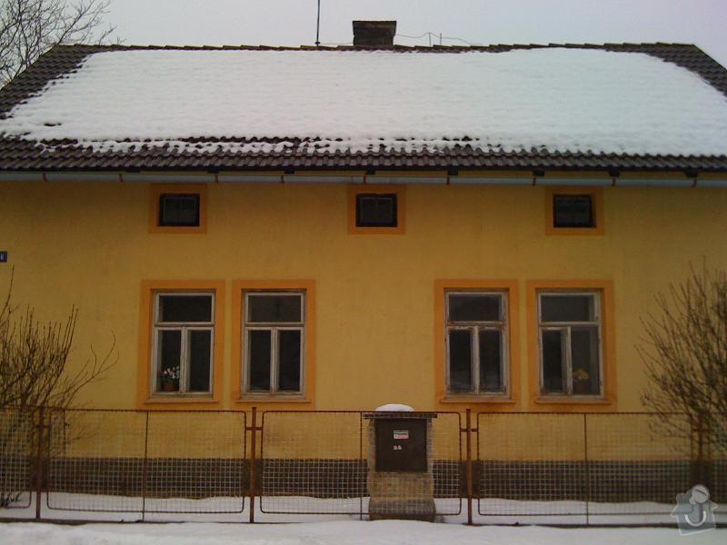 Pokrývače, tesaře, rekonstrukce komínu: Loukovec2010-1