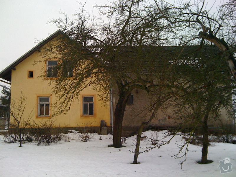 Pokrývače, tesaře, rekonstrukce komínu: Loukovec2010-2