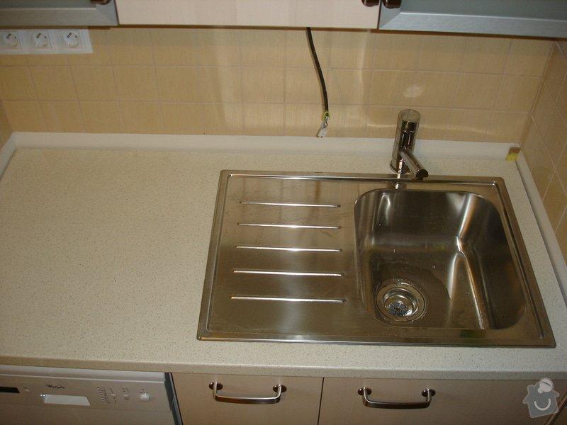 Montáž kuchyňské linky: DSC09039