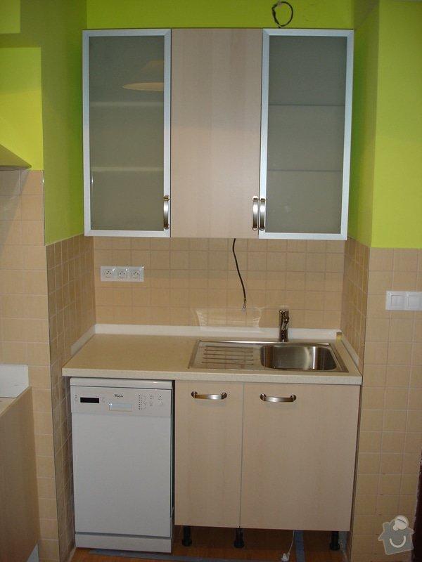 Montáž kuchyňské linky: DSC09041
