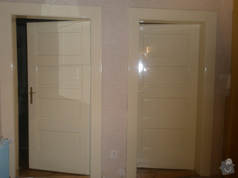 Lakování dveří: P3030536