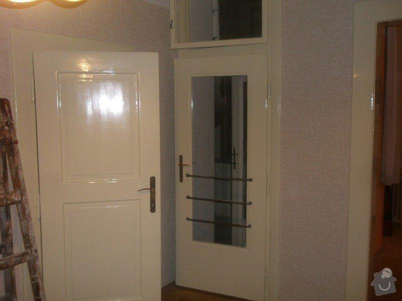 Lakování dveří: P3030537