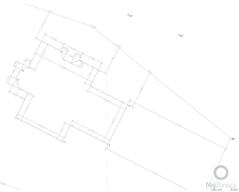 Výstavba Rodiného domu - Praha 9: zaklady