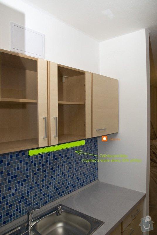 Elektro zapojení kuchyně, výměna zásuvek v bytě: 2