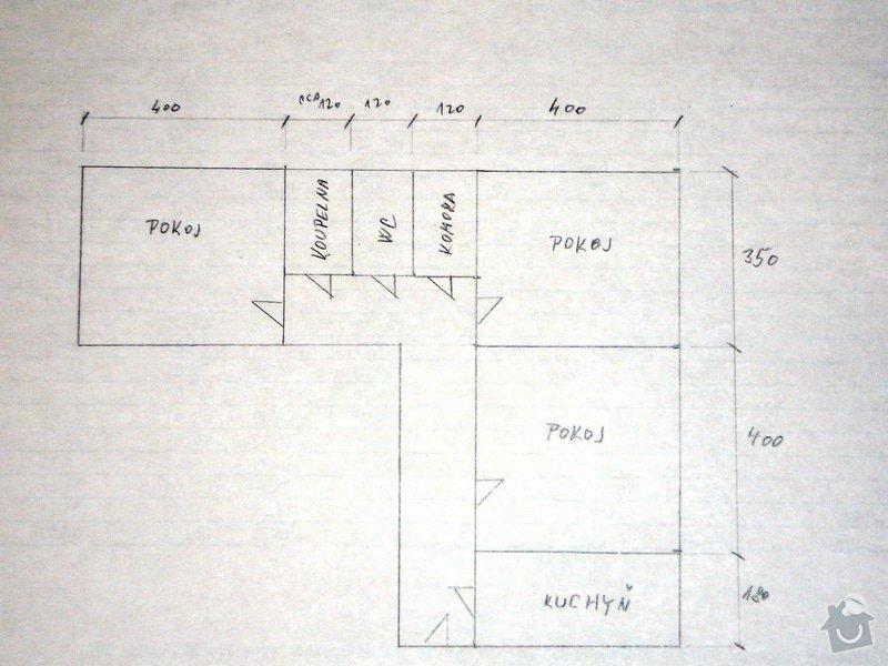 Rekonstrukce elektroinstalace byt 3+1: BytNabrezi