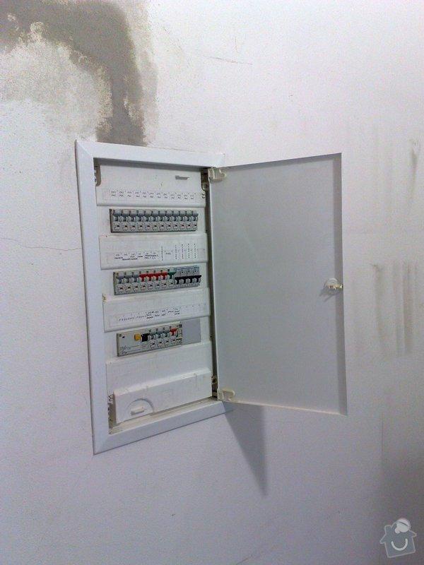 Instalace PC zásuvek a ventiláce do místnosti serverovna: 019