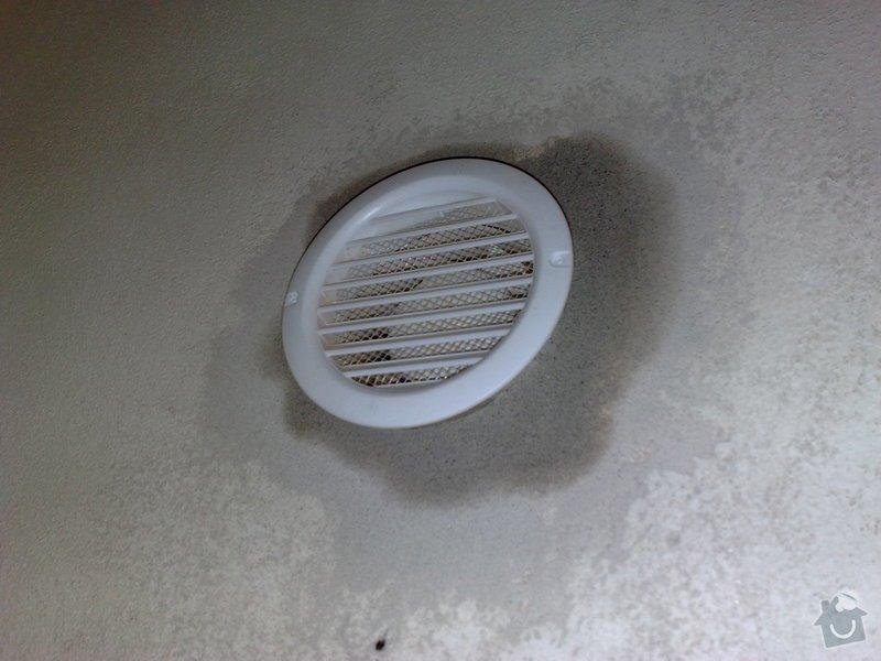 Instalace PC zásuvek a ventiláce do místnosti serverovna: 016