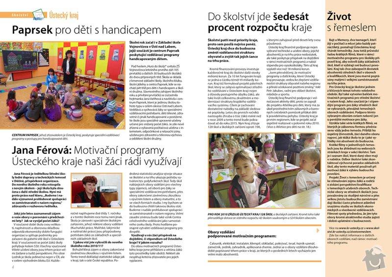 Magazín Ústecký kraj: 04-05_Magazin_Ustecky_kraj