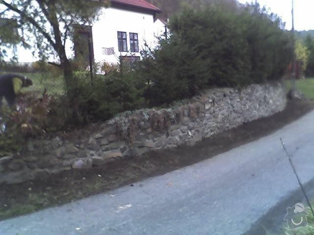 Oprava kamené zdí: 25-10-09_1439