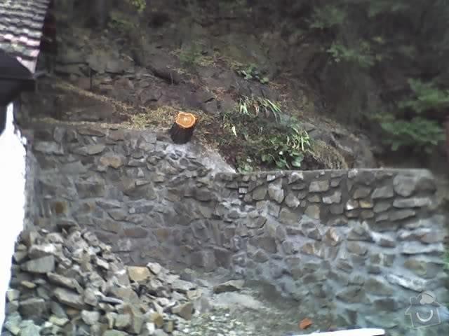 Oprava kamené zdí: 20-09-09_0948
