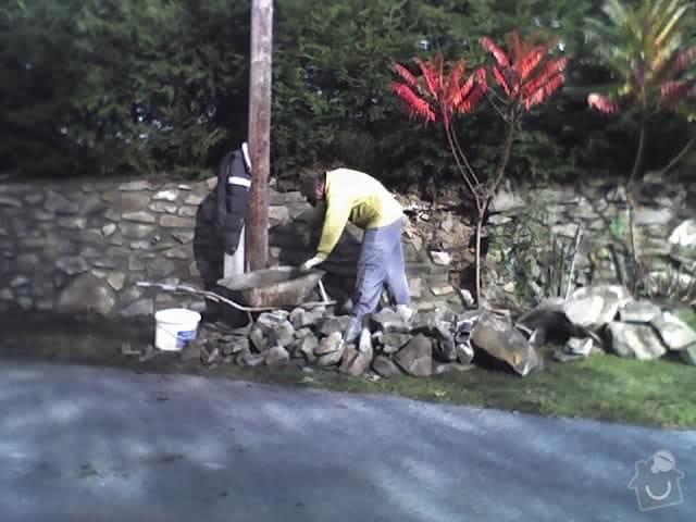 Oprava kamené zdí: 25-10-09_1155