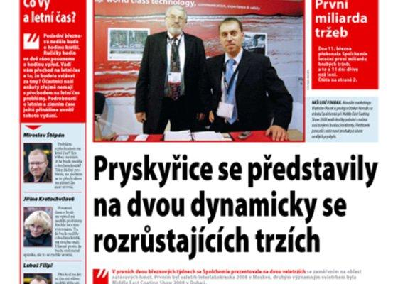 Firemní noviny My & Spol.