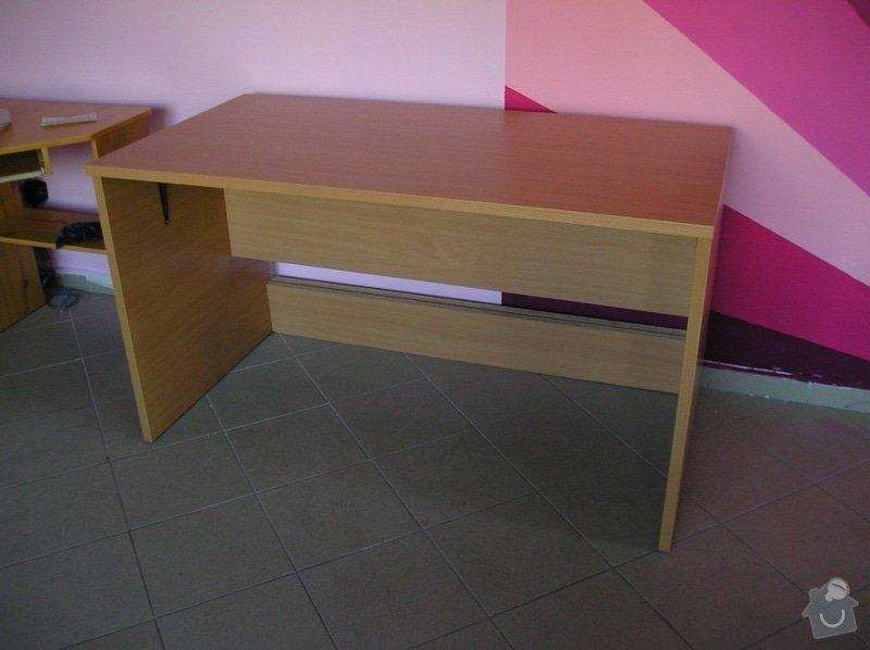 Výroba kancelářských stolů: stul-1