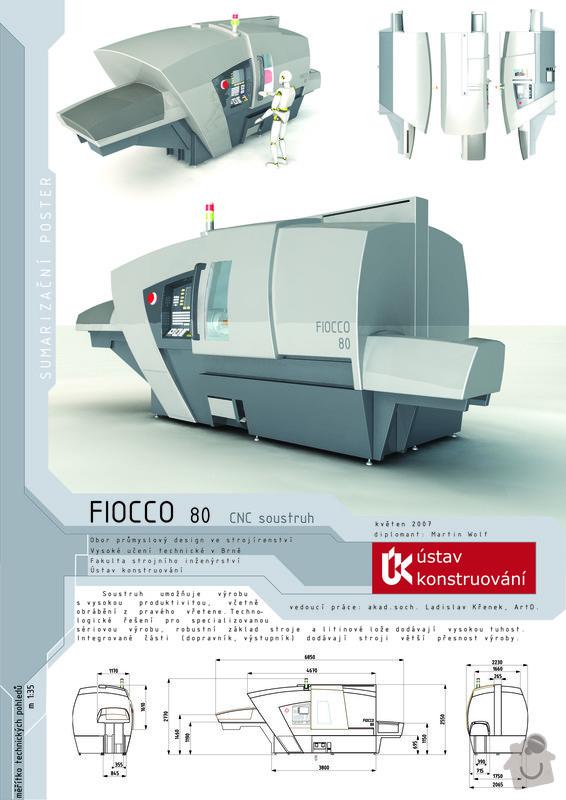 Design CNC soustruhu: D1sumarizacni