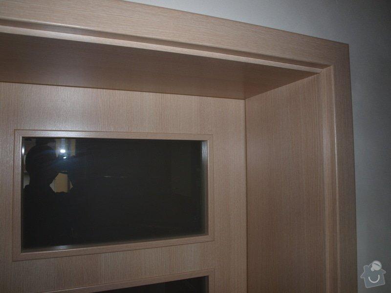 Dodání a montáž dveří a zárubní.: P6201107