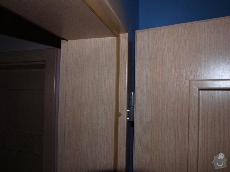 Dodání a montáž dveří a zárubní.: P6201112