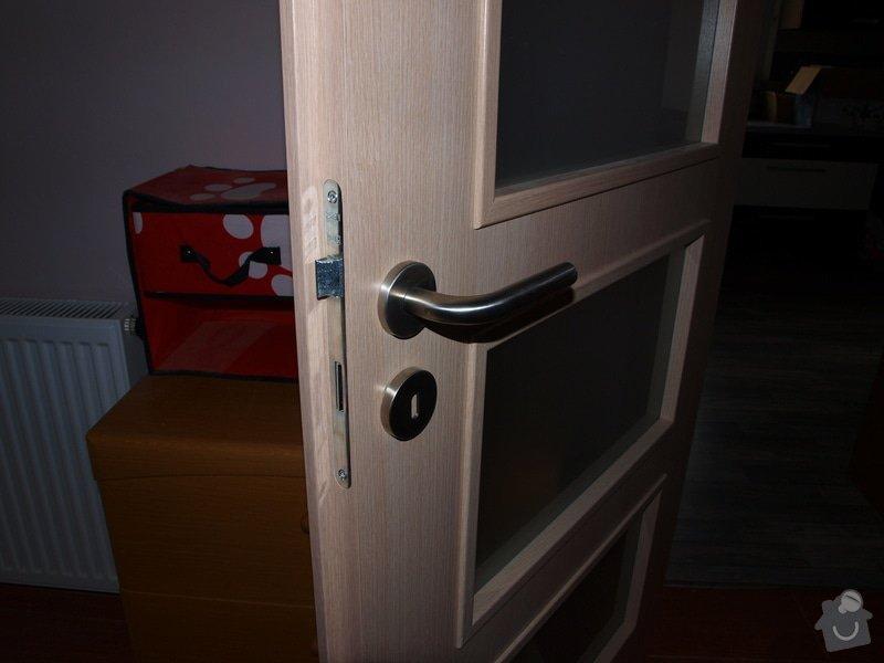 Dodání a montáž dveří a zárubní.: P6201115
