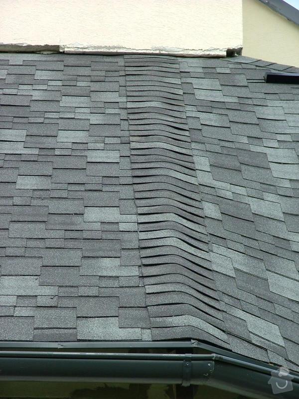 Oprava a dokončení střechy - pokrytí + klempířina: DSCF7061